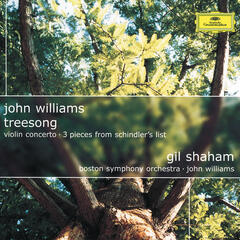 John Williams: TreeSong; Violin Concerto; 3 Pieces from Schindler's List