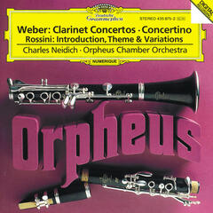 Weber: Clarinet Concertos / Rossini: Introduction, Theme and Variations