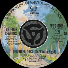 December, 1963 [Oh What A Night] / Slip Away [Digital 45]