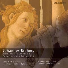 Johannes Brahms: Viola Sonatas, op. 91 - Cello Sonatas, op. 114