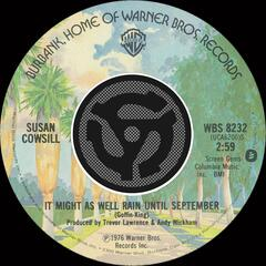 It Might As Well Rain Until September / Mohammed's Radio (Digital 45)