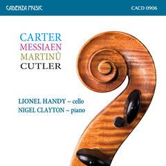 Lionel Handy & Nigel Clayton - Carter Cello Sonata