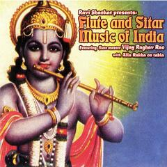 Flute and Suitar Music of India (feat. Vijay Raghav Rao and Alla Rakha)