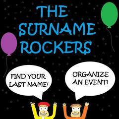 Find Your Last Name! Organize an Event!