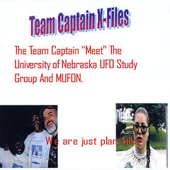 "The Team Captain ""Meet"" The University of Nebraska UFO Study Group And M.U.F.O.N. - Single"
