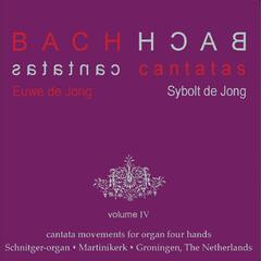 Bach Cantatas, Vol. 4: Cantata Movements for Organ Four Hands