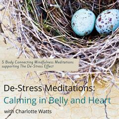 De-Stress Meditations: Calming in Belly and Heart