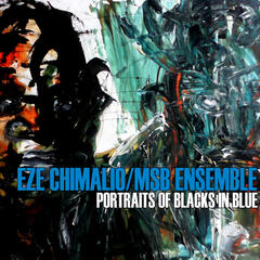 Portraits of blacks in blue