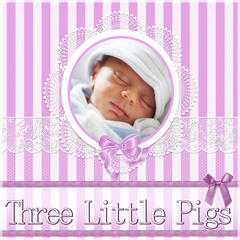 Three Little Pigs - Soft and Calm Baby Music for Sleeping and Bath Time, Soothing Lullabies with Ocean Sounds, Quiet Sounds Loop for Bedtime