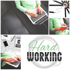 Hard Working - Relaxing Music for Learning and Reading that Helps to Focus and Concenrate on Work, Nature Sounds for Your Brain Power