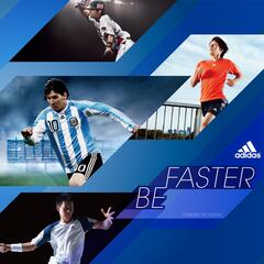 Be Faster Powered by Adidas