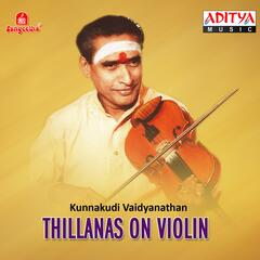 Thillanas on Violin