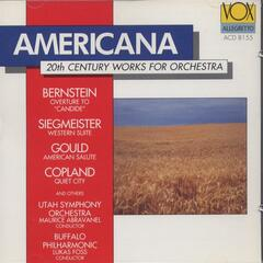 Americana 20th Century Works For Orchestra: Bernstein, Siegmeister, Copland, Ives, Ruggles, Gould, Robertson, Nelhybel