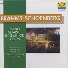 Brahms-schoenberg: Piano Quartet (arranged For Orchestra)