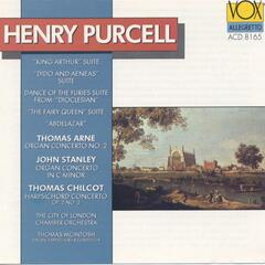 English Music By Purcell, Arne, Stanley, Chilcot