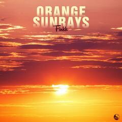 Orange Sunrays