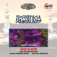 Complete Holy Quran Vol. 11 (with English Translation)