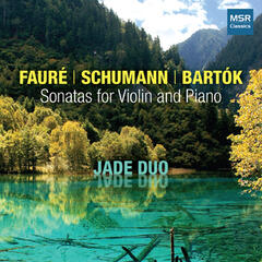 Faure, Schumann and Bartok: Sonatas for Violin and Piano