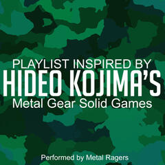 Playlist Inspired by Hideo Kojima's Metal Gear Solid Games