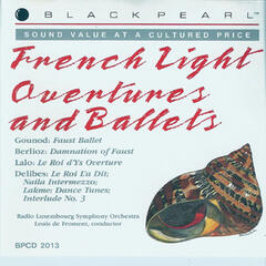 French Light Overtures and Ballets