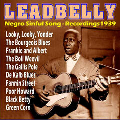 Negro Sinful Song - Recordings 1939