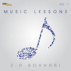 Music Lesson by Z.A. Bokhari, Vol. 1
