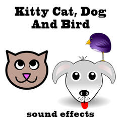 Kitty Cat, Dog and Bird Sound Effects Text Tones