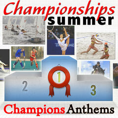 Sporty Summer in London. Champions Anthems