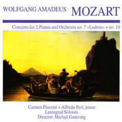 "Wolfgang Amedeus Mozart: Concerto for 2 Pianos and Orchestra No. 7 ""Lodron"" + No. 10"