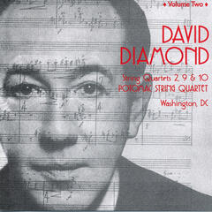 David Diamond: Complete String Quartets, Vol. 2