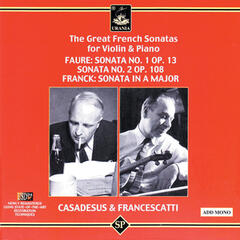 The Great French Sonatas for Violin & Piano
