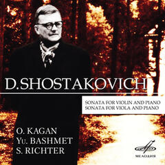 Shostakovich: Sonata for Violin and Piano & Sonata for Viola and Piano