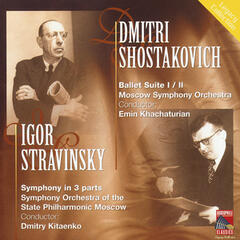 Shostakovich: Ballet Suites Nos. 1 & 2 - Stravinsky: Symphony in Three Movements
