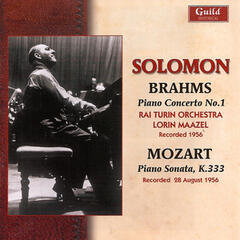 Solomon Plays Brahms & Mozart - 1956
