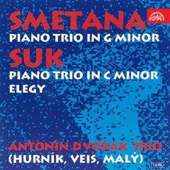 Smetana: Piano Trio in G-Minor & Suk: Piano Trio in C-Minor,  Elegy