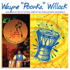 "Wayne ""Poonka"" Willock with Braynestorm & Omele Inc. Percussion Ensemble"
