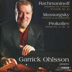 Ohlsson: Rachmaninoff, Prokofiev and Mussorgsky