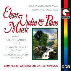 Elgar: Complete Works for Violin & Piano