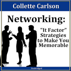 Networking: It Factor Strategies to Make You Memorable. 30 Minute Success Series