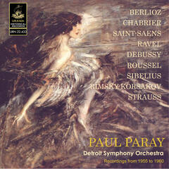 Paray Conducts Berlioz, Chabrier, Ravel, Saint-Saëns and Others