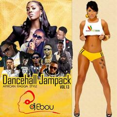 Dancehall JamPack Vol. 13 (African Ragga Style) mixed by DJ Ebou