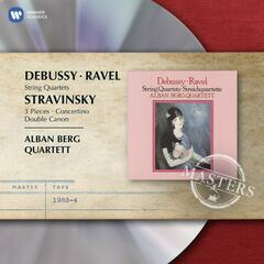 Ravel & Debussy: String Quartets & Stravinsky: 3 Pieces, Concertino & Double Canon