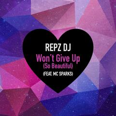 Won't Give up (So Beautiful) [feat. MC Sparks]