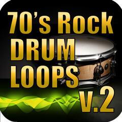 70s Rock Drum Loops Vol. 2