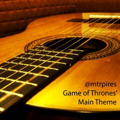 Game of Thrones' main Theme (Classical Guitar)