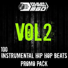 100 Instrumental Hip Hip Beats Promo Pack, Vol.2