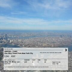 One-Way Ticket from New York City
