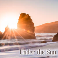 Under the Sun – Sunlight, on the Beach, Navy Blue, Whole Holiday