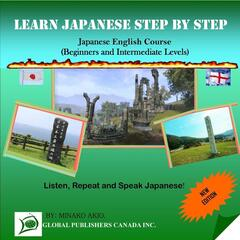Learn Japanese Step By Step, English-Japanese Course
