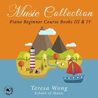 Music Collection: Piano Beginner Course Books, Vols. III & IV